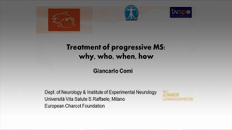 Treatment of Progressive MS: Why, Who, When, How