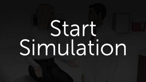 Multiple Sclerosis: An Immersive Virtual Patient Simulation
